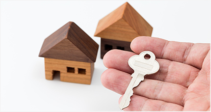 積み木の家と鍵